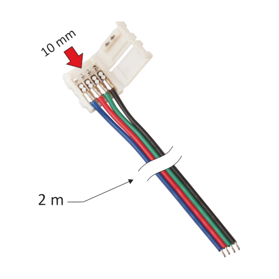 Led Stecker Led Adapter Verbindungskabel Lichtband Strip Kabel Pin