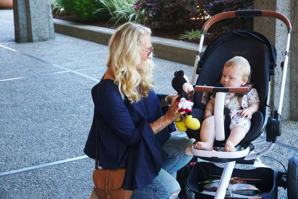 Baby Stroller With Leather Handle Review Rachel Zoe X Quinny Moodd Stroller Have Need Want