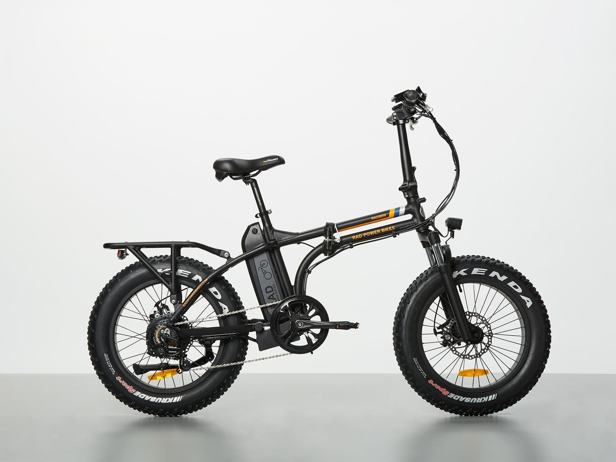 Fat Bike Rad Power Bikes Radmini Electric Folding Fat Bike