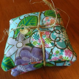 Tropical Floral Pocket Rice Filled Hand Warmers