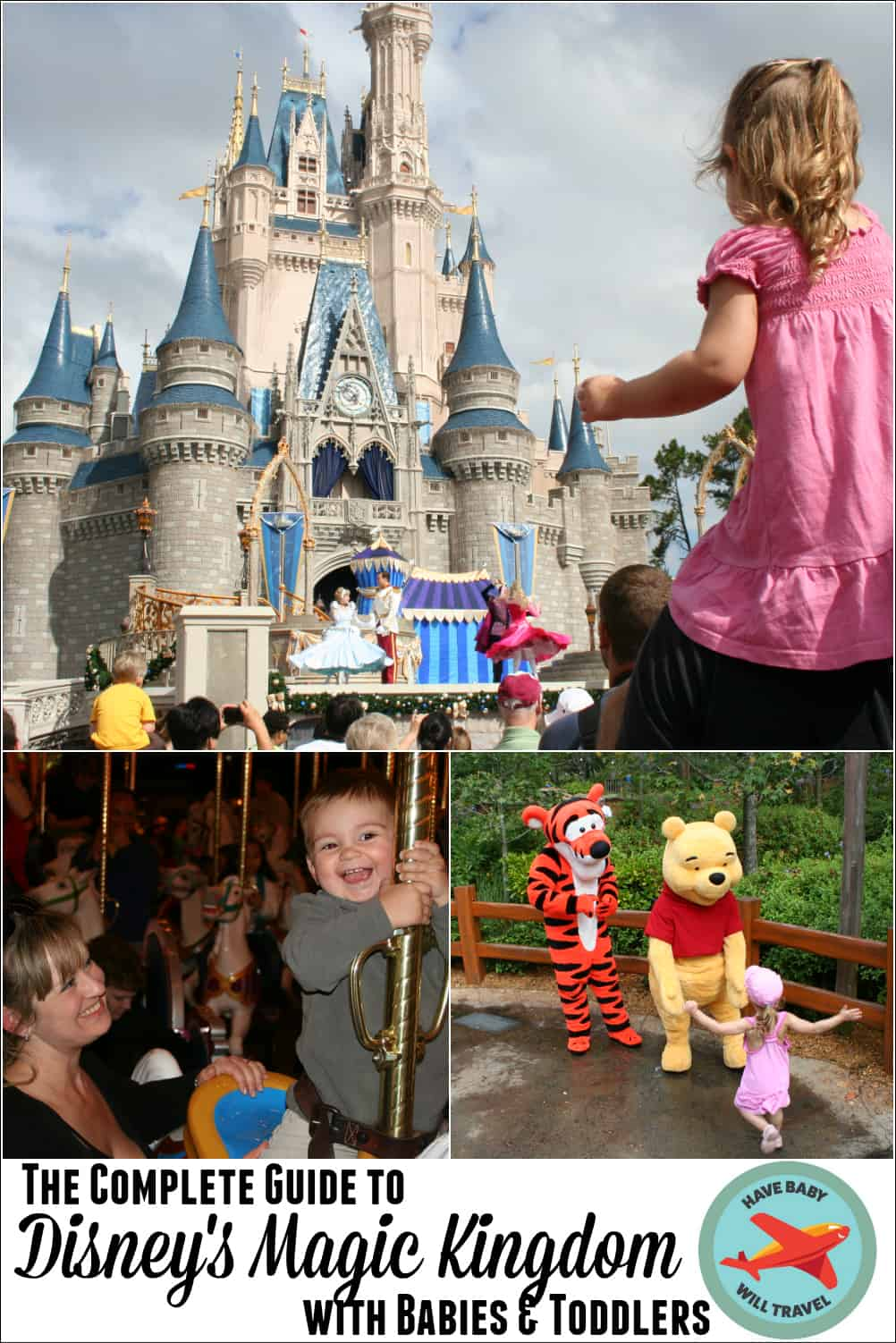Infant Baby In Carrier Disney 39;s Magic Kingdom With Babies Toddlers Have Baby