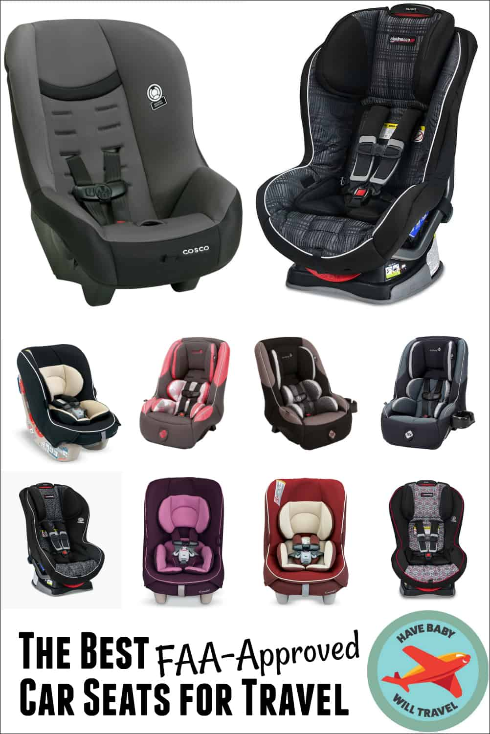 Newborn Car Seat Set Up Best Faa Approved Car Seats For Travel Have Baby Will Travel