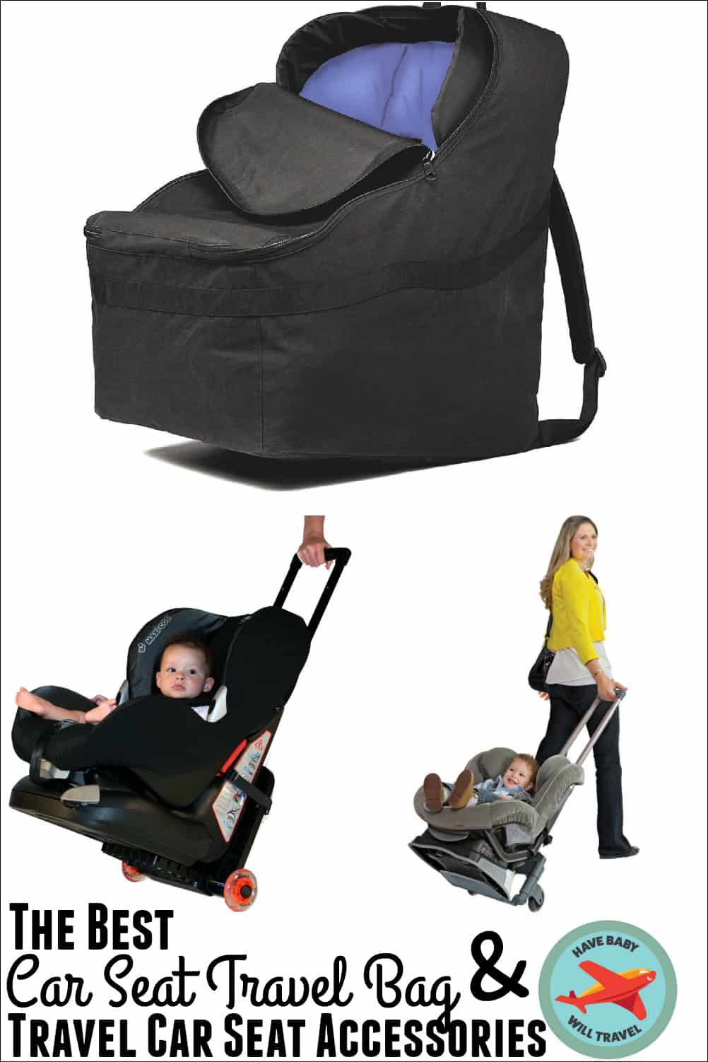 Infant Seat Vs Safety Seat The Best Car Seat Travel Bag Travel Accessories Have