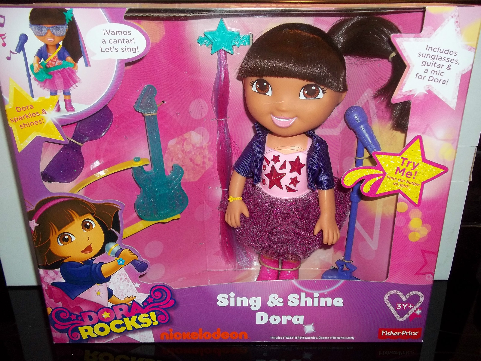 Toy Guitar Target New Hot Toy Dora Rocks Available At Target From Nickelodeonpr