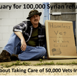 Refuse Geez: Syrian Refugees Vs. Homeless Veterans
