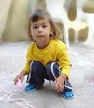 holčička na Havránkově dvorku
