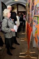Výstavu a vastoupení viděli také krajští zastupitelé Dagmar Nohýnková a Milan Němec