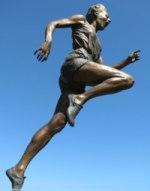 ilustrační obrázek běžkyně