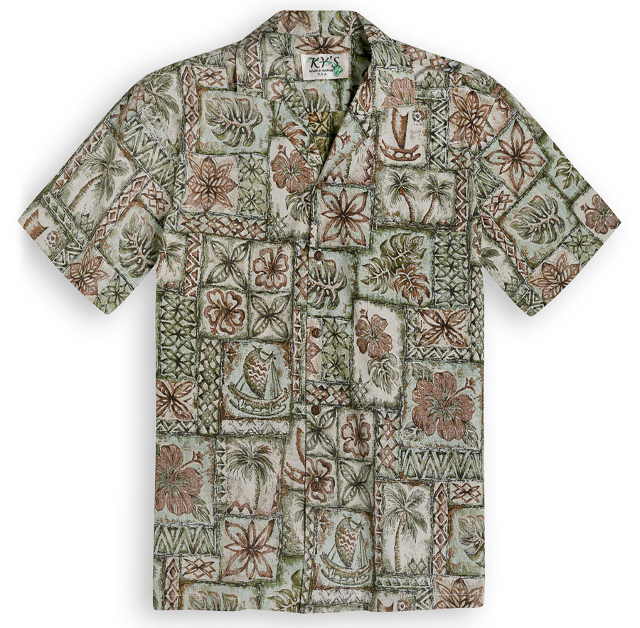 Vintage Fotos Vintage Outrigger | The Hawaiian Shirt Shop Uk