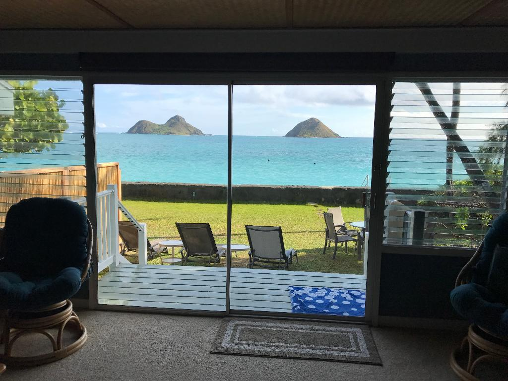 The Best Lanikai Ocean Front Location Duplex Beach House Awesome Views Vacation Rental In Lanikai North Shore Oahu Hawaii Usa House