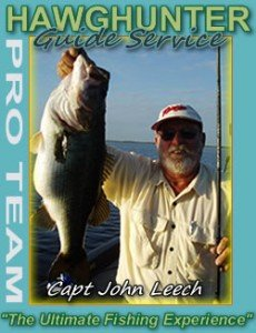 Orlando bass fishing with Captain John Leech