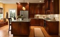 Kitchen design ideas with cherry cabinets | Hawk Haven