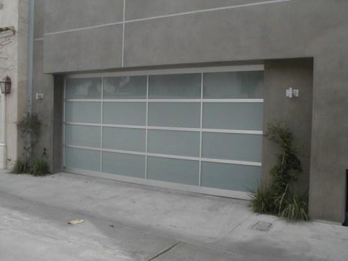 Medium Of Contemporary Garage Doors