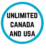 Unlimited Canada and USA