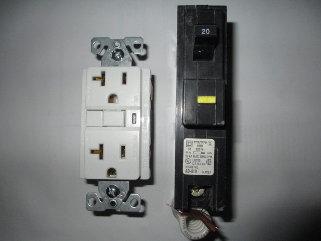 GFCI, ground fault circuit breakers - Hawley Home Inspections LLC