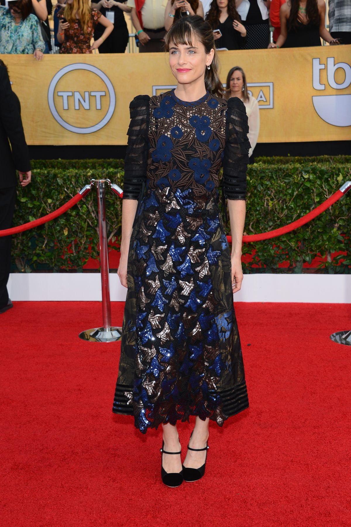 Roter Teppich Los Angeles Amanda Peet At 2014 Sag Awards In Los Angeles Hawtcelebs