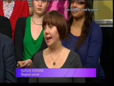 screenshot mid-broadcast