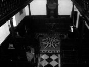 Me in the chapel at Littlecote Manor