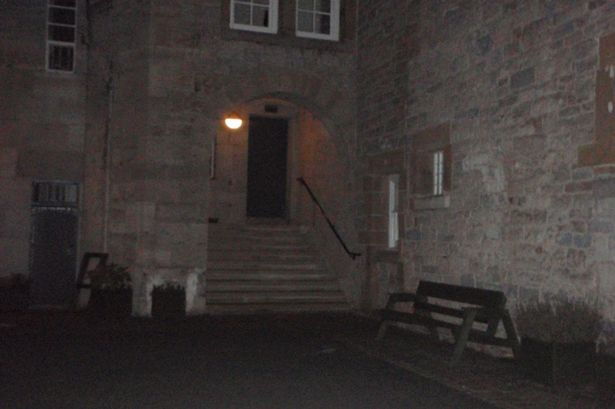 dog ghost ruthin castle