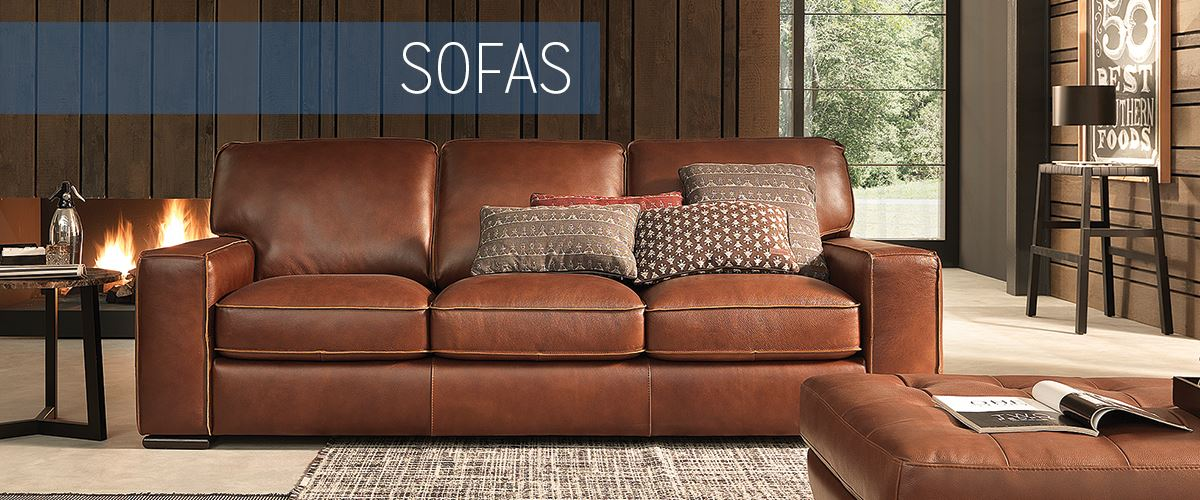 Chaise Modern Living Room Sofas | Haynes Furniture, Virginia's Furniture