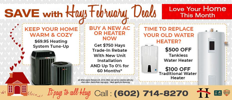 Air Conditioning Heating Plumbing Specials Phoenix