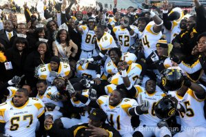 Grambling State University defeats Alabama A&amp;M University to win the 2011 SWAC Championship (The Birhingham News)