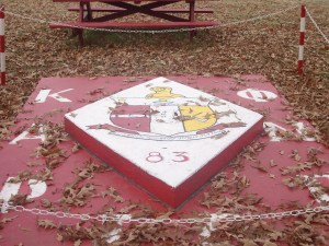 The Gamma Gamma chapter plot at Talladega College.