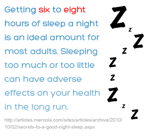 How many hours of sleep are enough  Mayo Clinic