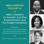 HL 030: HBCU Lifestyle's Co-founder, Just Play Entertainment, and the Kresge Foundation