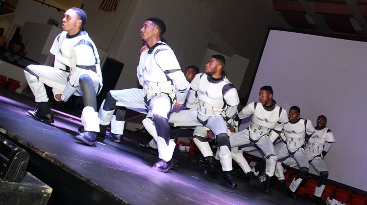 The brothers of Alpha Phi Alpha at Tuskegee University dressed as ...