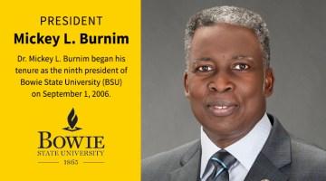 Bowie State University President Mickey Burnim Announces Retirement