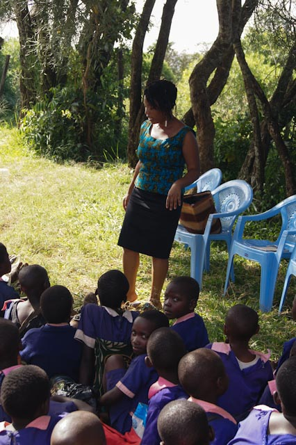 Teaching Life Skills in Kenya