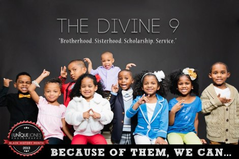 """The Divine Nine"" 