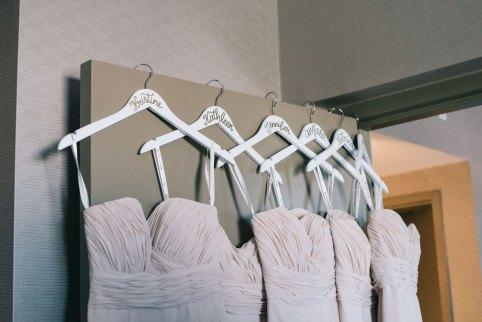 Light rose Bridesmaid dresses for Toronto Wedding
