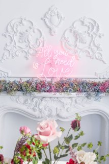 All You Need Is Love Neon Wedding Light Decor