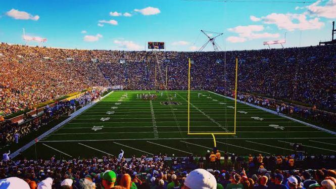 Notre Dame Sam Wicks