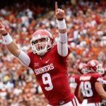 Oklahoma's Trevor Knight has had a lot to celebrate this year.