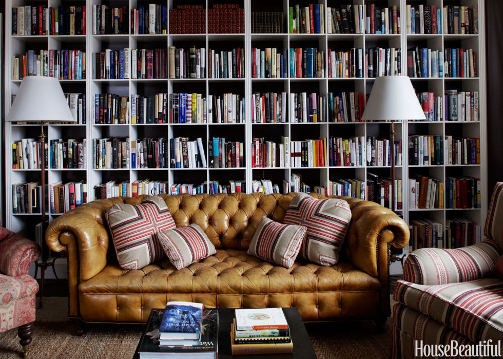 Home Library Design Ideas - Pictures of Home Library Decor - home library design