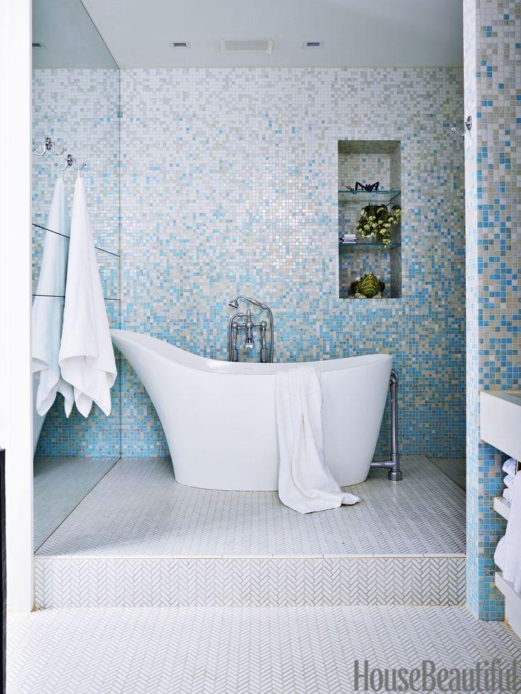70 Best Bathroom Colors - Paint Color Schemes for Bathrooms - small bathroom paint ideas