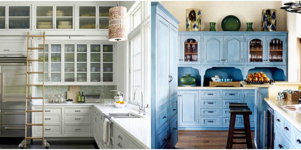 40 Kitchen Cabinet Design Ideas - Unique Kitchen Cabinets - small kitchen design ideas photo gallery