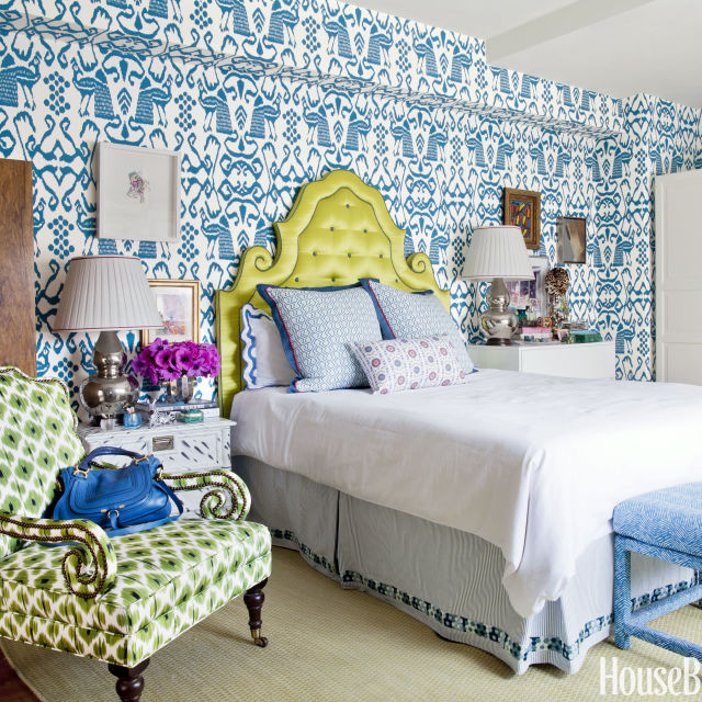 Small Room Ideas - Decorating Small Spaces - House Beautiful - beautiful bedroom ideas for small rooms