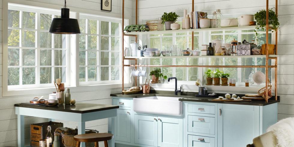 20 Unique Kitchen Storage Ideas - Easy Storage Solutions for Kitchens - kitchen storage ideas for small spaces