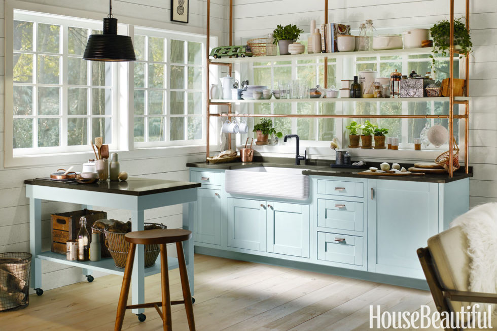25 Best Small Kitchen Design Ideas - Decorating Solutions for - small kitchen layout ideas