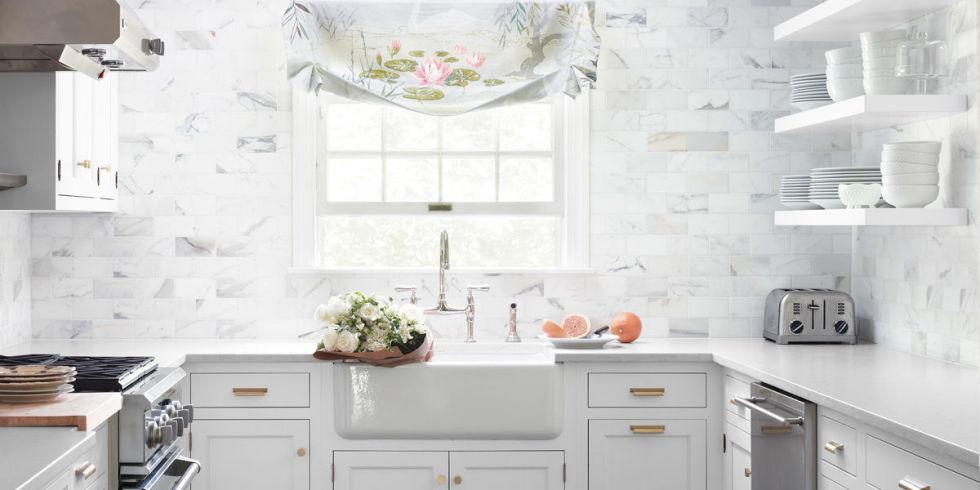 53 Best Kitchen Backsplash Ideas - Tile Designs for Kitchen - kitchen back splash ideas