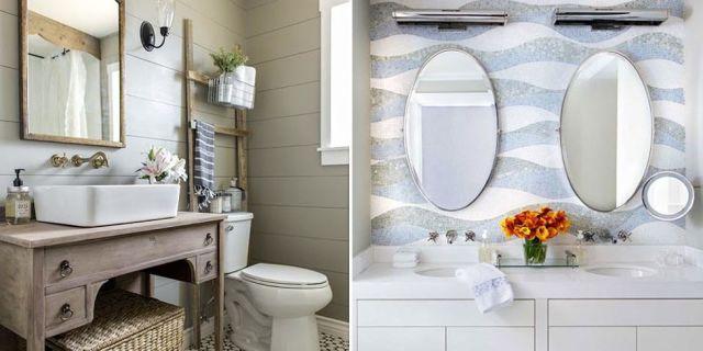 48 Bathroom Tile Design Ideas - Tile Backsplash and Floor Designs - tile designs for bathrooms