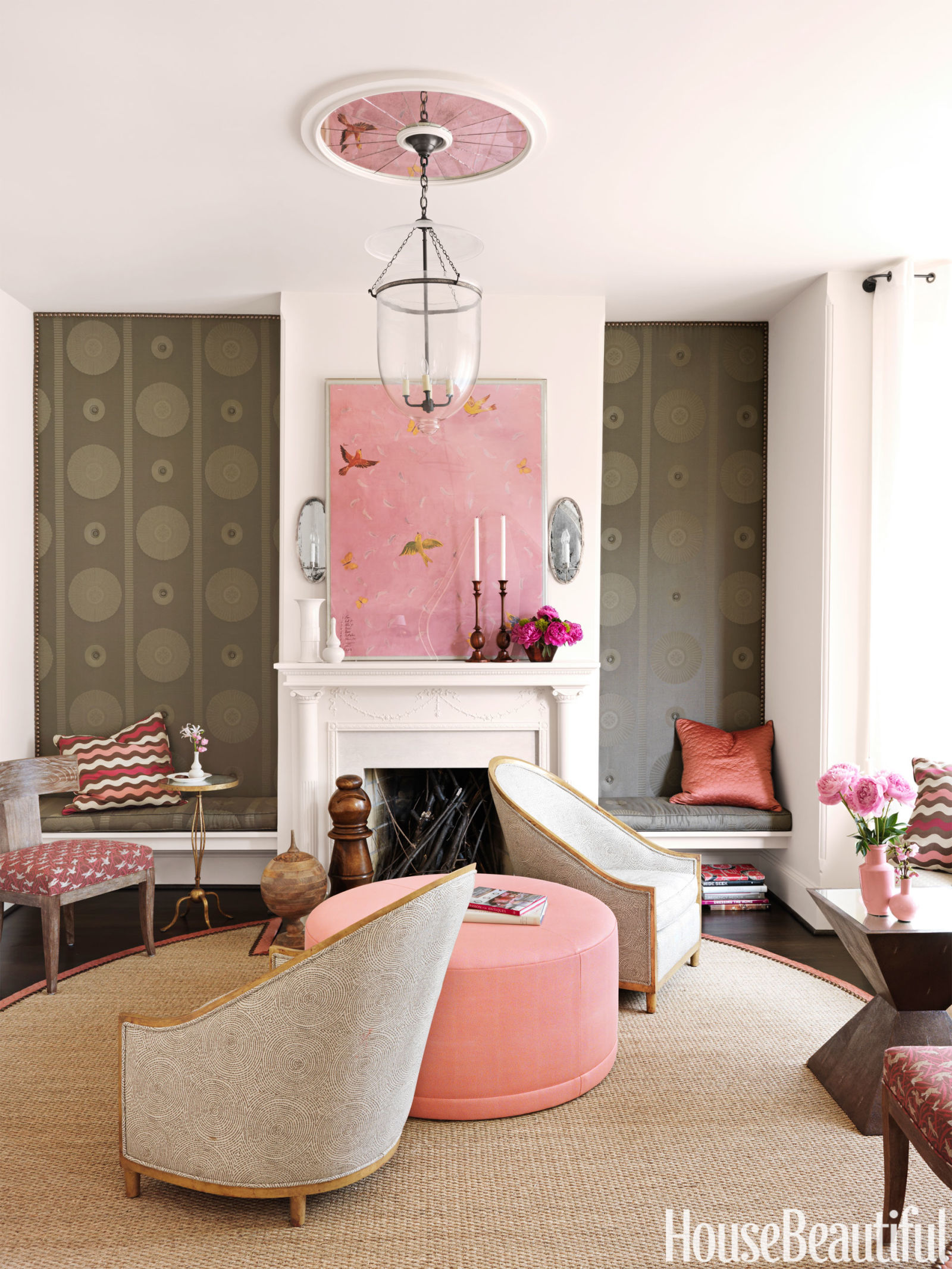 Woonkamer Roze Happy Living Room Fun Living Rooms