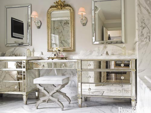 Vintage Bathroom Decor Ideas - Design Tips for Vintage Bathroom - vintage bathroom ideas
