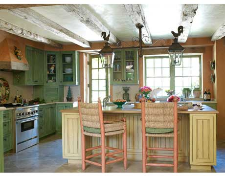 Country Kitchen - French Country Kitchen Design - french kitchen design