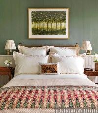 Green Bedrooms - Green Paint Bedroom Ideas