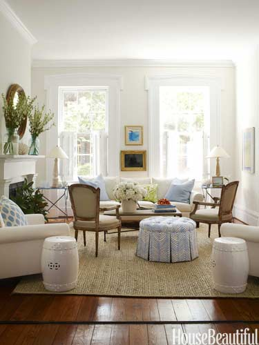 White Living Room Ideas - White Living Rooms Decor - southern living living rooms